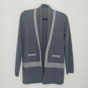 J. McLaughlin wool cardigan sweater S